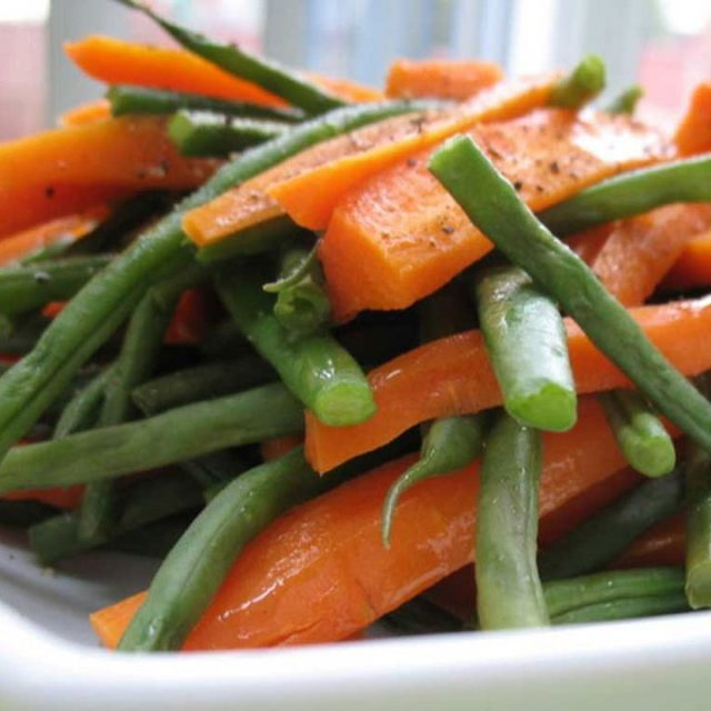 Glazed Carrots & Green Beans