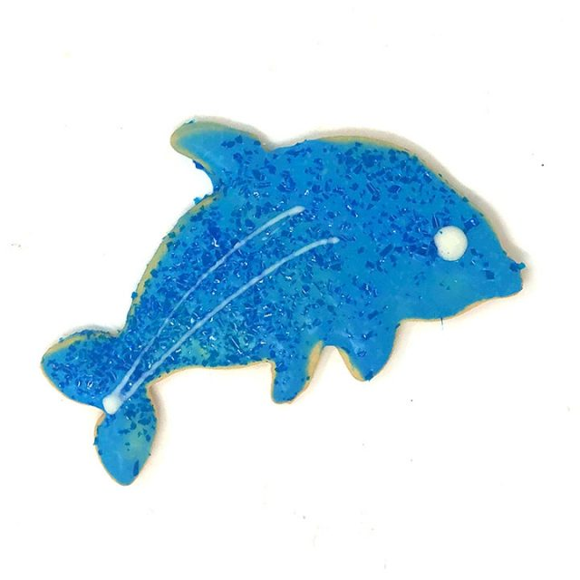 Dolphin Cookie