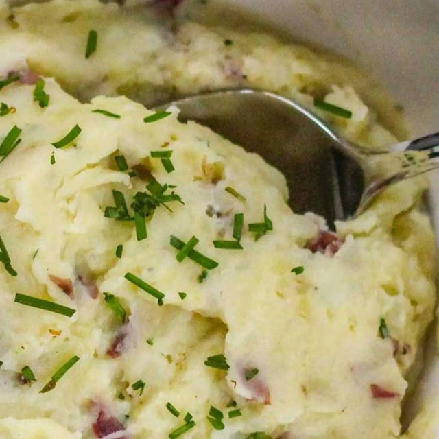 Whipped Red Potatoes