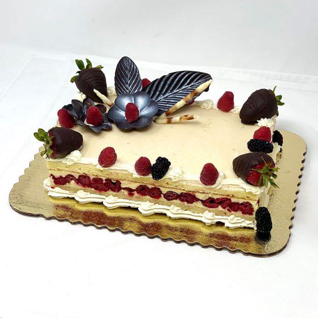 Raspberry Bagatelle Cake