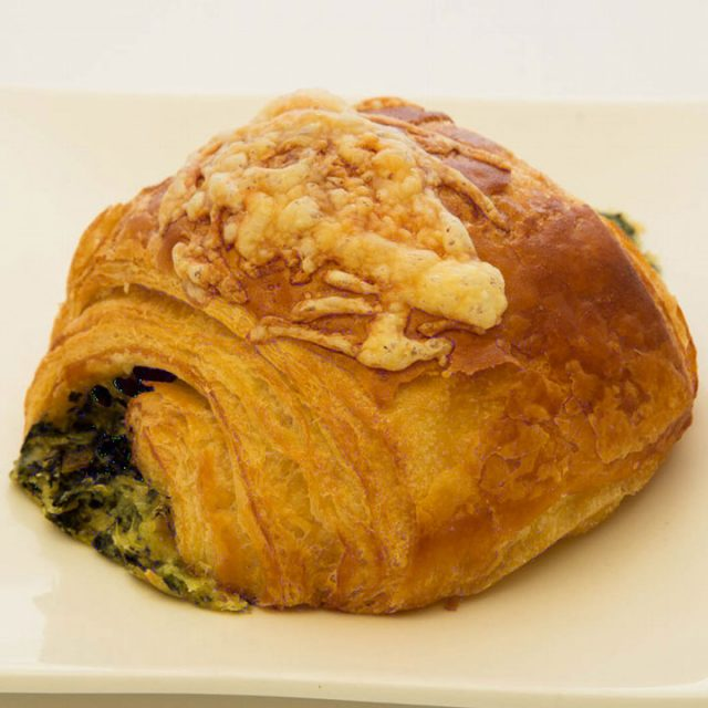 Cheese and Spinach Croissant