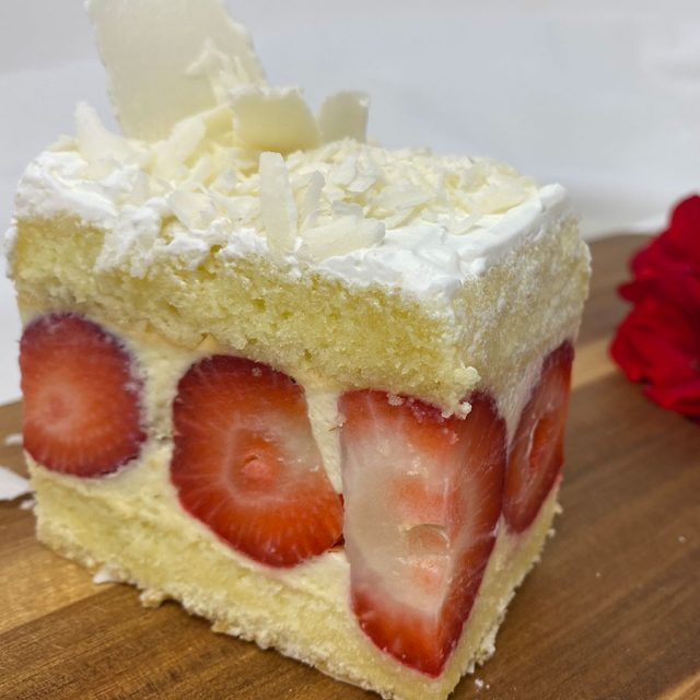 Strawberry Bagatelle Cake
